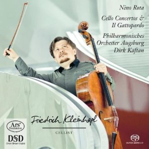 Rota: Cellokonzerte Nr.1 und 2 CD Cover
